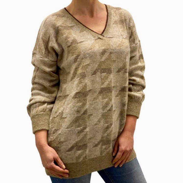 Dames pullover Vhaals cashmeremix - Panicale