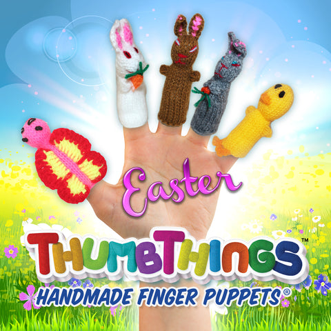 Celebrate Spring With ThumbThings Finger Puppets!