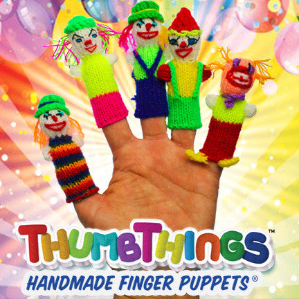 Happy Birthday Finger Puppets