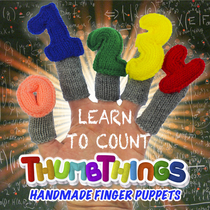 Learn To Count Finger Puppets For Early Learners
