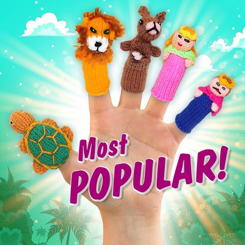 Finger Puppets for Pretend Play