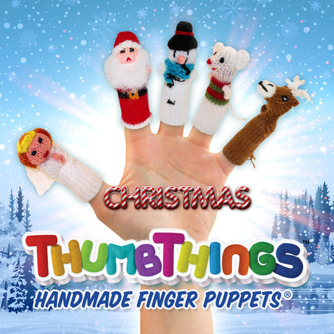 Christmas Finger Puppets For The Whole Family