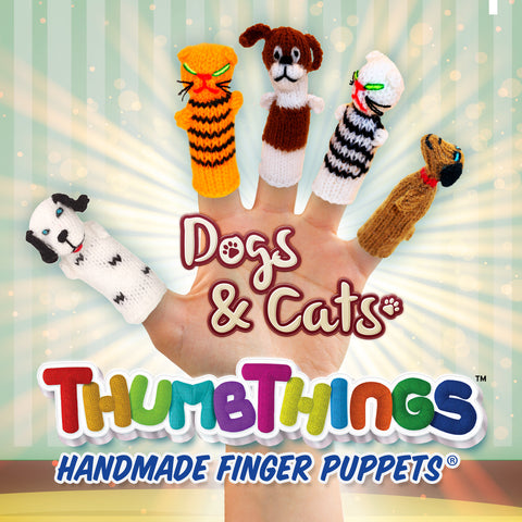Buy Dogs & Cats Finger Puppets