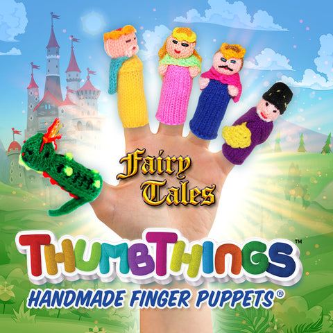 Great Fun At Your Fingertips: Fairy Tales Finger Puppets