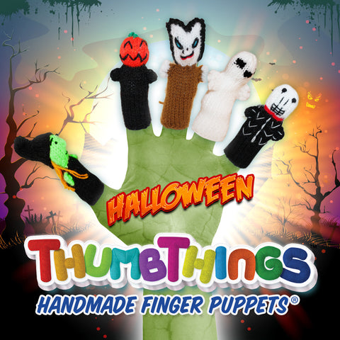 Halloween Finger Puppets for Healthy Play!