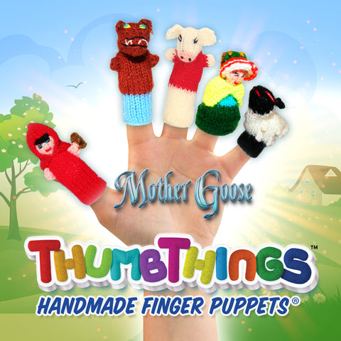 Children's Classic Story Time Finger Puppets