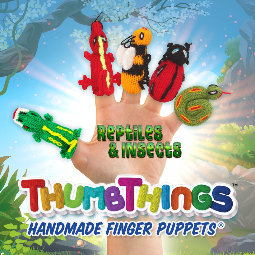 Shop Now For Reptiles & Insects Finger Puppets