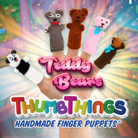 Buy Classic Teddy Bear Finger Puppets