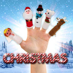 Buy Christmas Finger Puppets, Stocking Stuffers