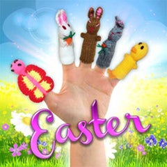 Buy Ester Finger puppets, Easter Bunny, Kids Easter Baskets
