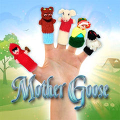 nursery rhymes characters, mother goose finger puppets, children's classic storybook characters