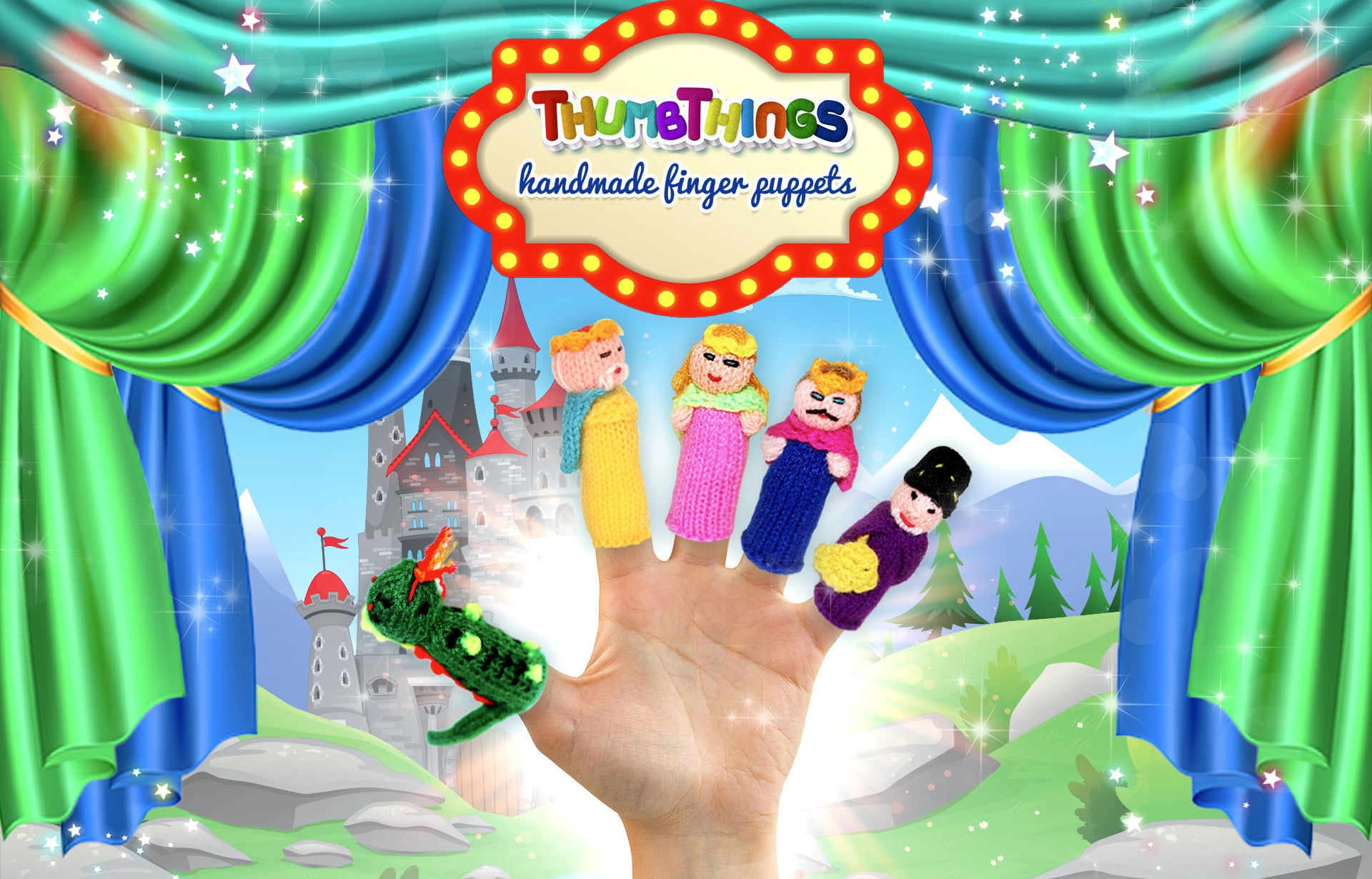 Fairy Tales Finger Puppets by Thumbthings Finger Puppets