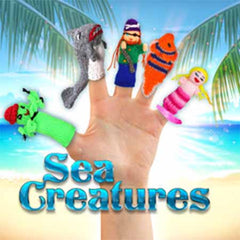 Sea Life finger puppets, buy fish finger puppets, sea creatures, under the sea, Ocean life
