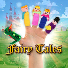 buy fairy tales finger puppets, thumbthings handmade finger puppets