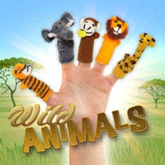 buy zoo animals finger puppets, wild animals, exotic animals, jungle animals