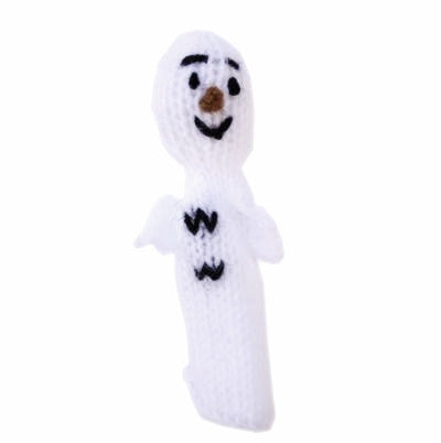 Friendly Ghost Finger Puppet