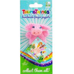 Thumbthings Pig Finger Puppet