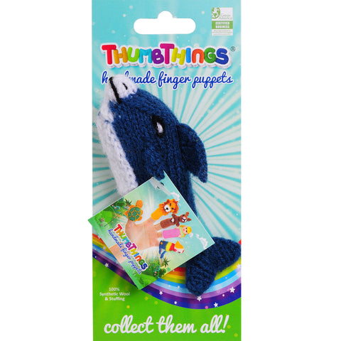 Thumbthings Dolphin Finger Puppet