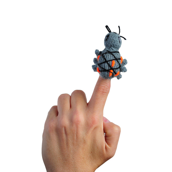 Amazon Rainforest Beetle Finger Puppet