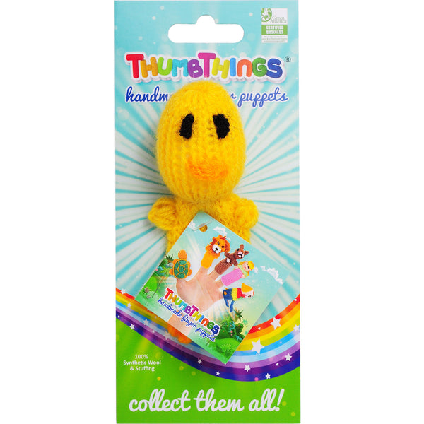 Thumbthings Baby Chick Finger Puppet