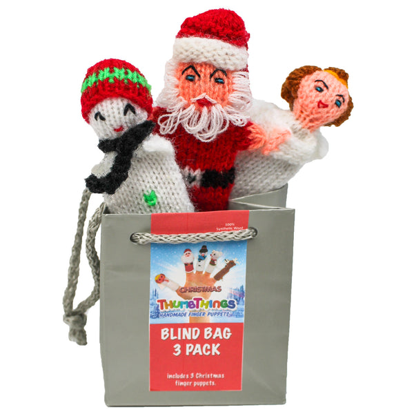 finger puppet sets for Christmas, stocking stuffers,