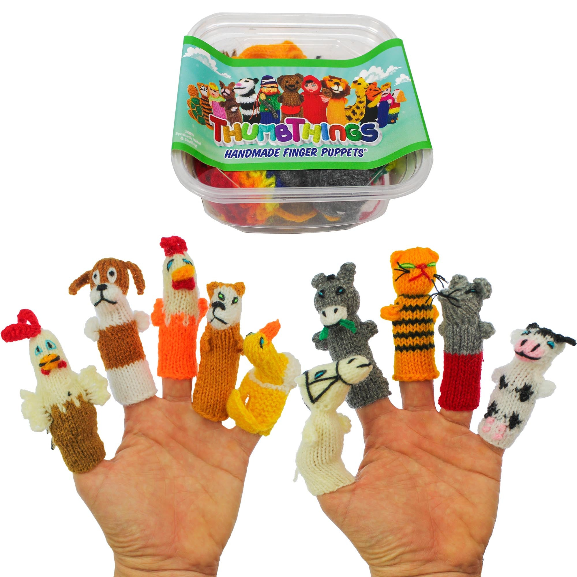 ThumbThings Farm Animal Finger Puppets