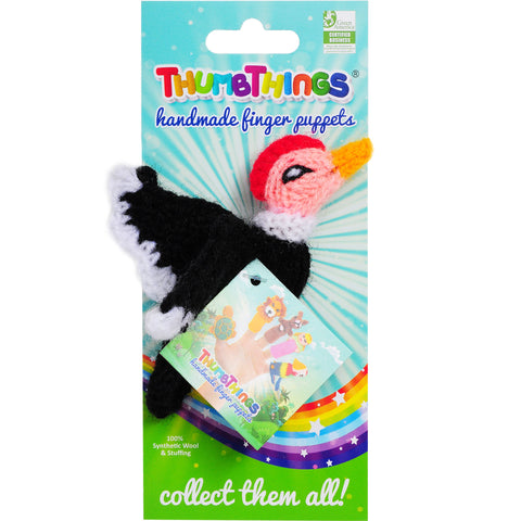 Condor Finger Puppet by ThumbThings Finger Puppets