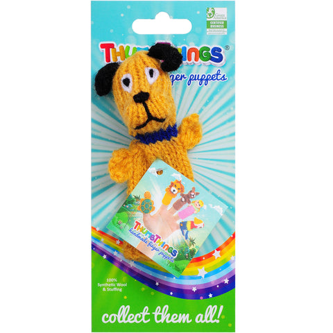ThumbThings Dog Finger Puppet