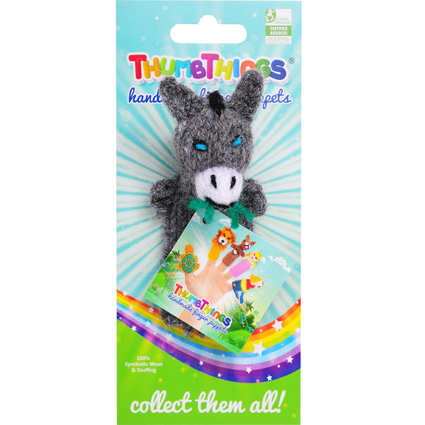 Thumbthings Donkey Finger Puppet