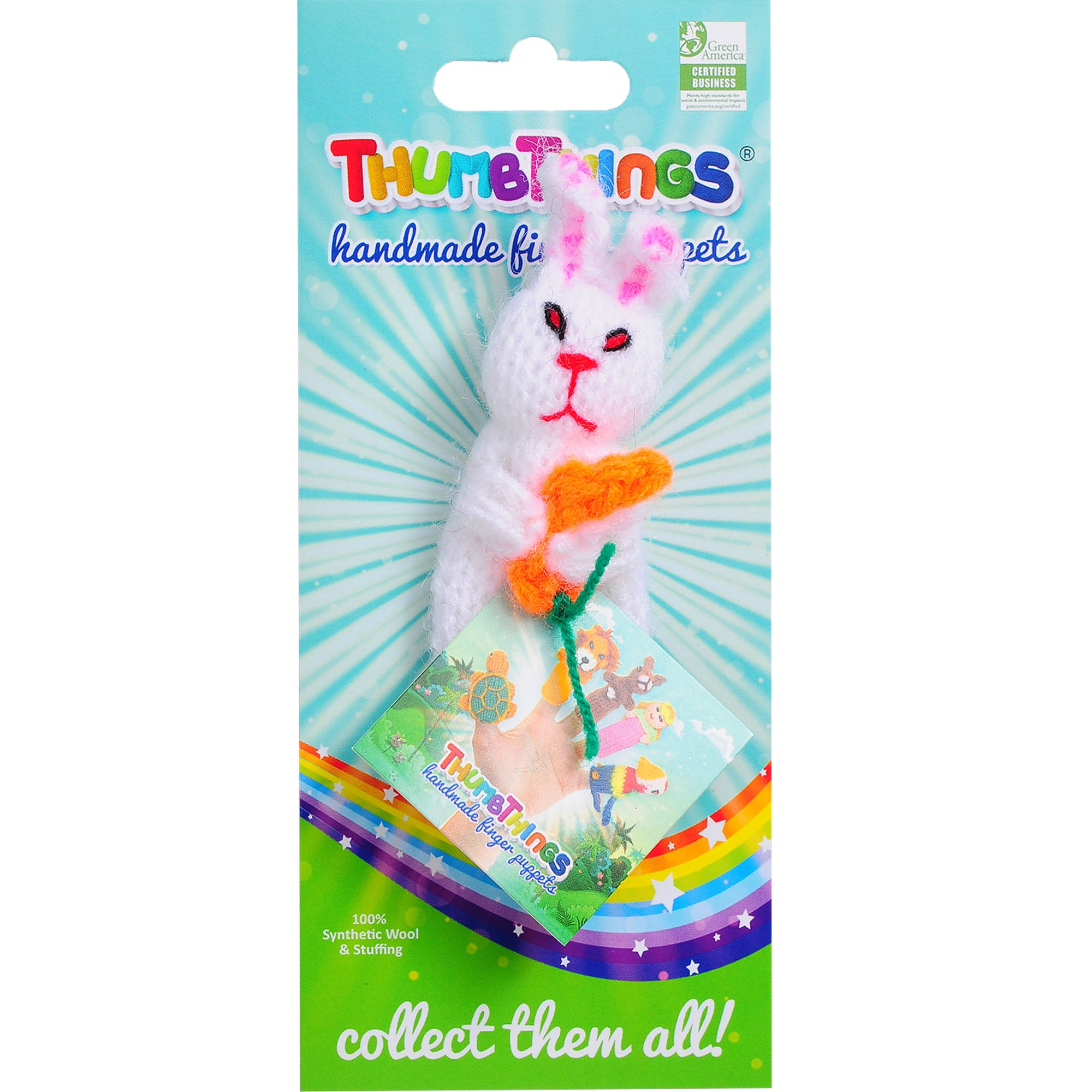 Thumbthings Easter Bunny Finger Puppet