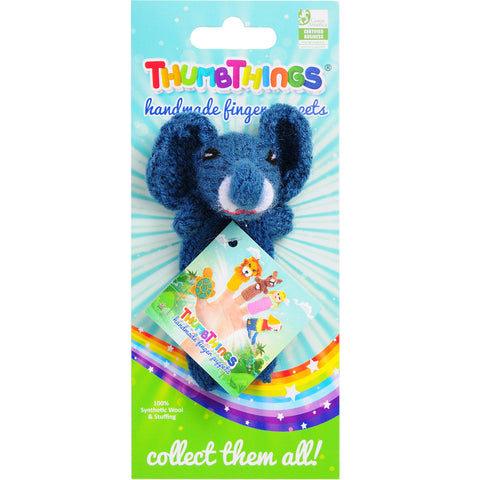 thumbthings elephant finger puppet