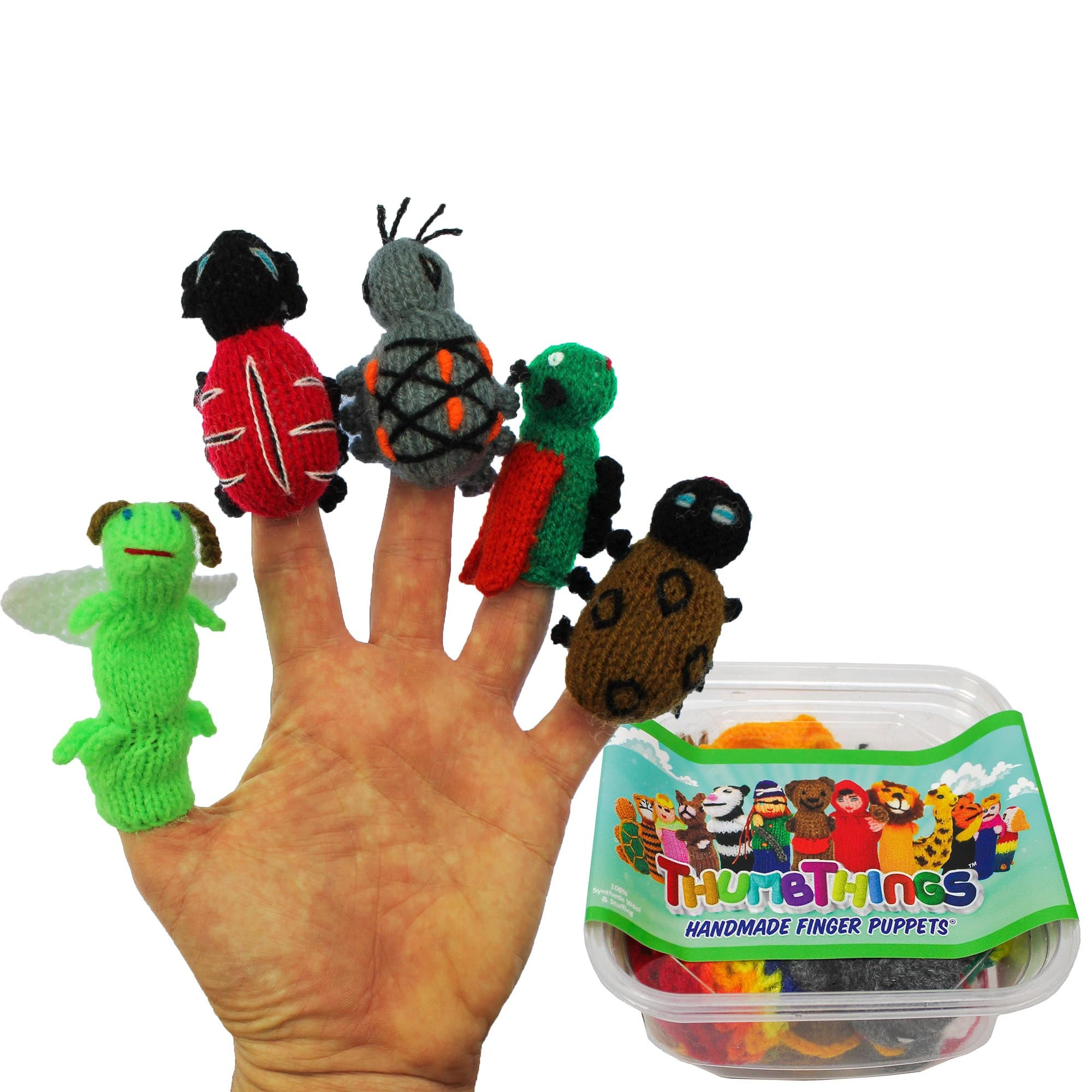 eco friendly toys, firefly, ladybug, amazon rainforest beetle, locust, bean leaf beetle