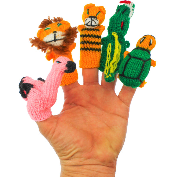 Flamingo toy, Lion toy, Tiger toy, Alligator toy, Turtle toy