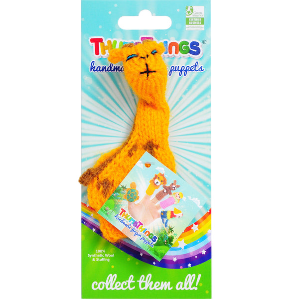 thumbthings giraffe finger puppet