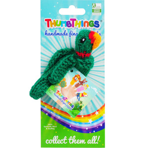 Thumbthings Green Macaw Finger Puppet