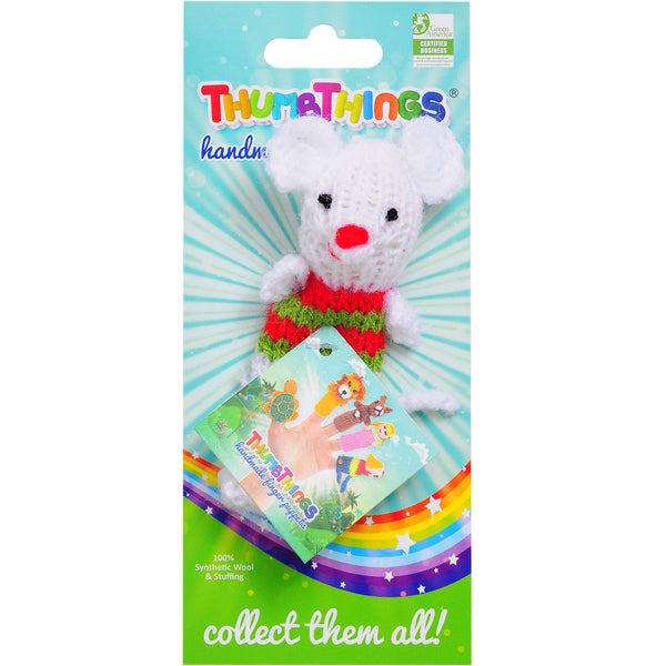 Thumbthings Holly Mouse Finger Puppet