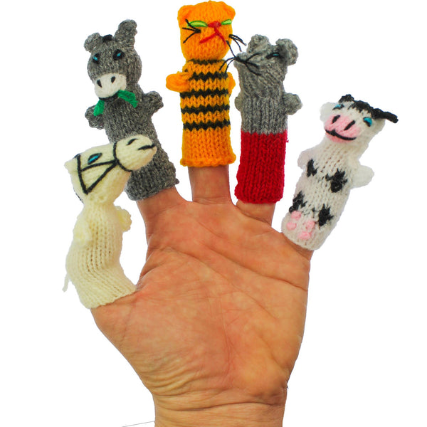 Family Fun, Finger puppets