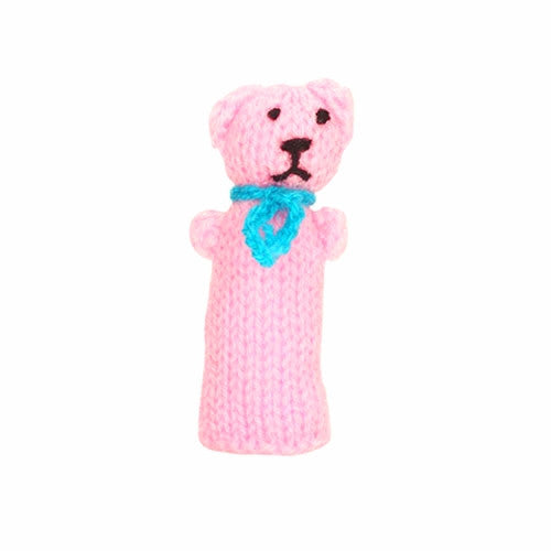 teddy bear finger puppet