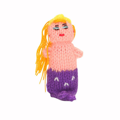 mermaid finger puppets