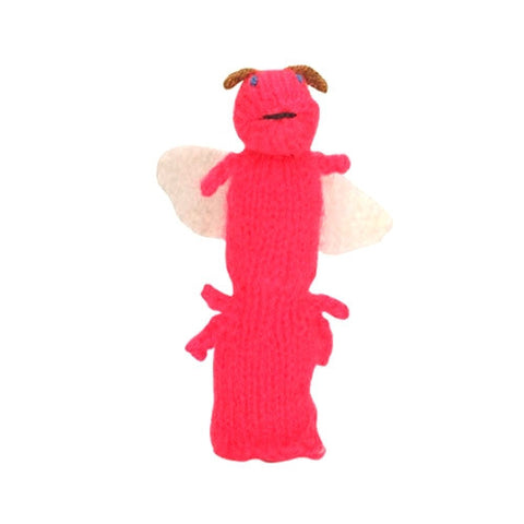 Firefly Finger Puppet (red)