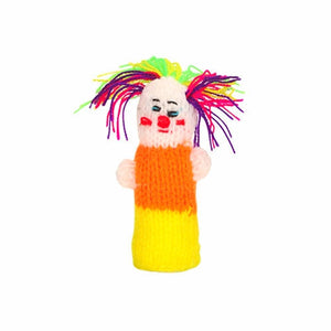 circus clown finger puppet