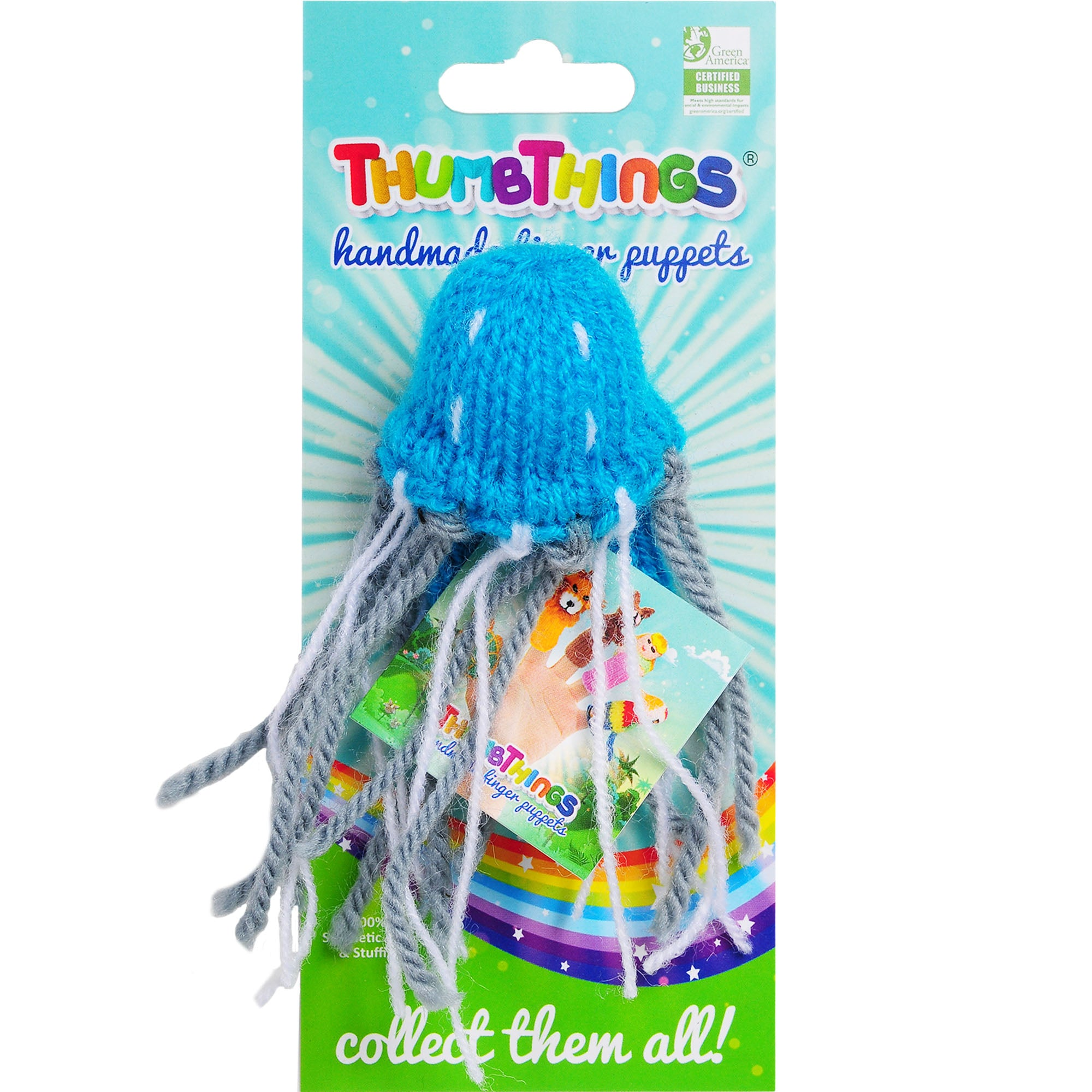 Thumbthings Jellyfish Finger Puppet