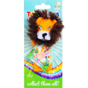 Thumbthings king of the jungle finger puppet