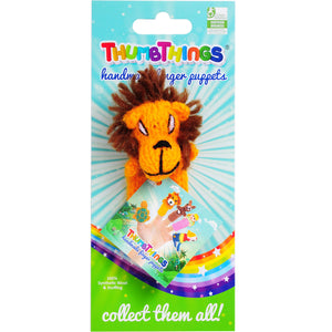 thumbthings lion cub finger puppet