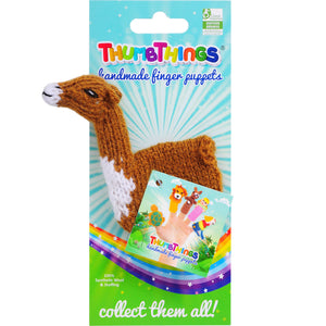 Thumbthings Llama Finger Puppet