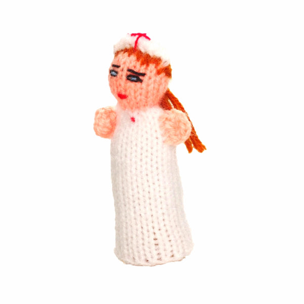 nurse finger puppets