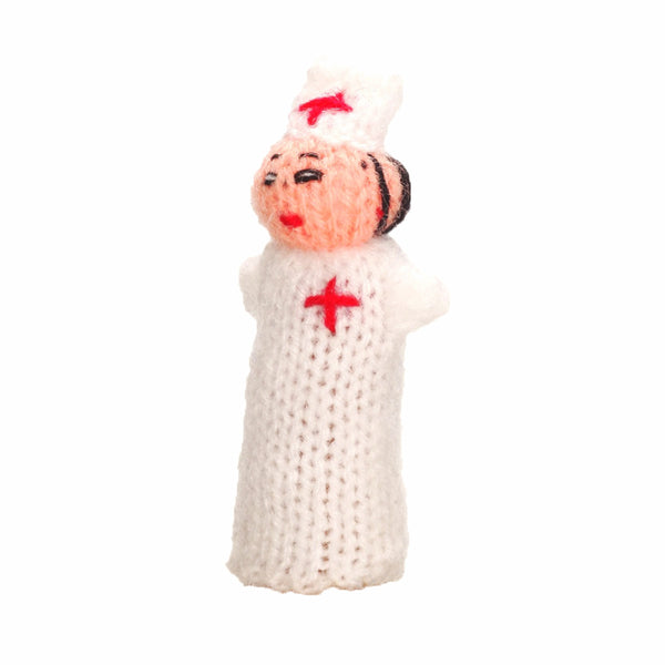 Hospital Orderly Finger Puppet