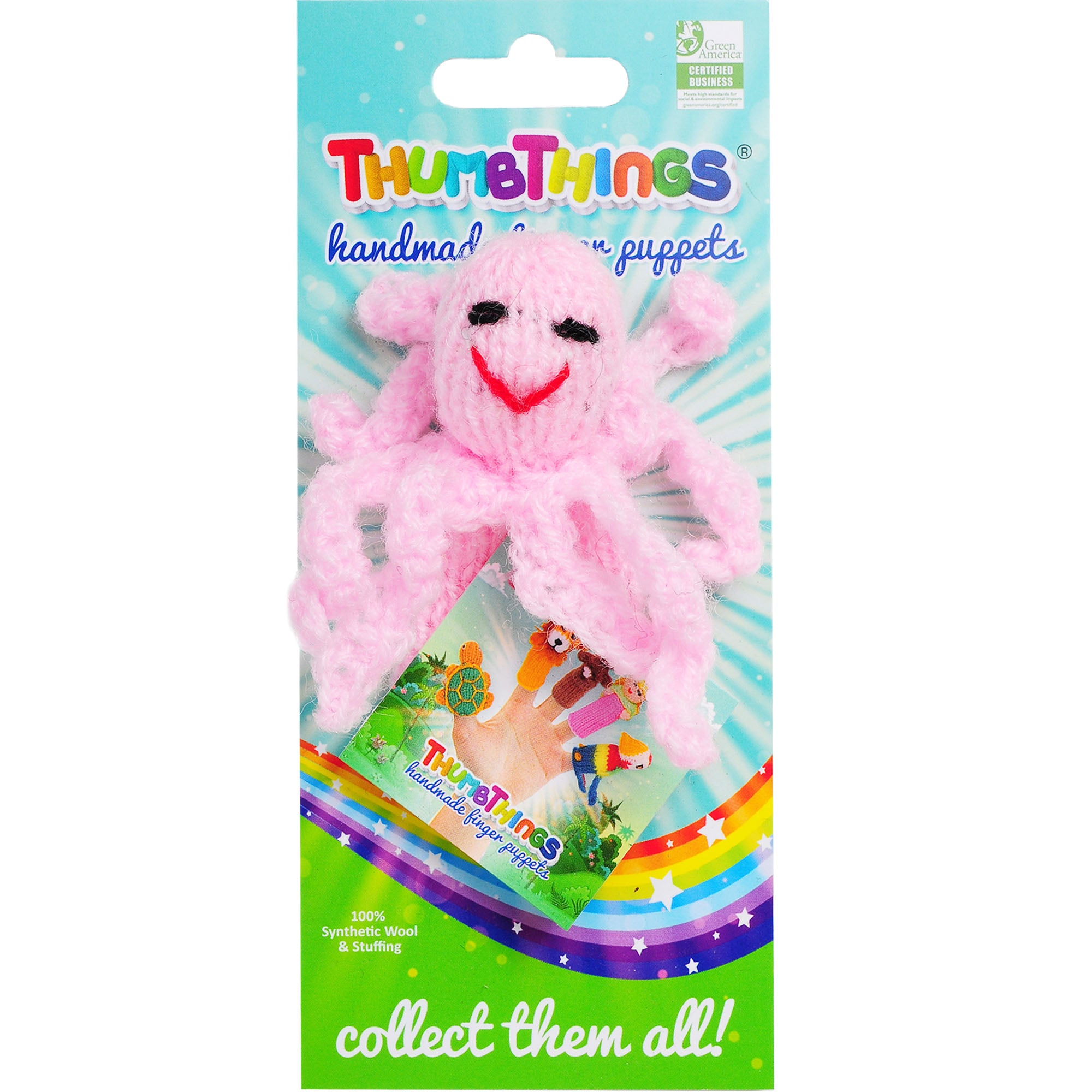 Thumbthings Octopus Finger Puppet