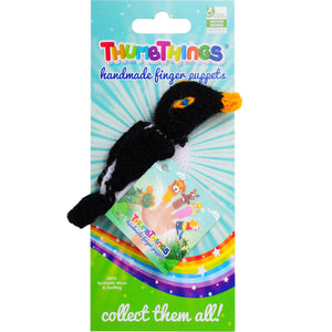 penguin finger puppet by thumbthings finger puppets