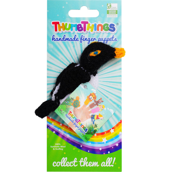 Thumbthings Penguin Finger Puppet